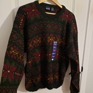 VINTAGE HONORS Grandpa Style Sweater